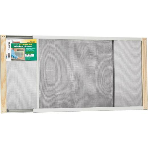 W.B. Marvin 15 In. x 25-45 In. Adjustable Window Screens by Frost King
