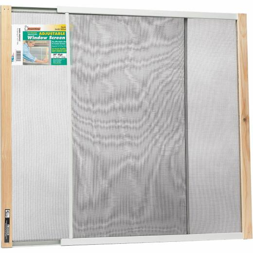 W.B. Marvin 24 In. x 21-37 In. Adjustable Window Screens by Frost King