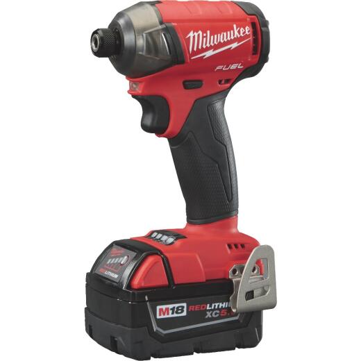 Milwaukee M18 FUEL SURGE 18 Volt Lithium-Ion Brushless 1/4 In. Hex Hydraulic Cordless Impact Driver Kit