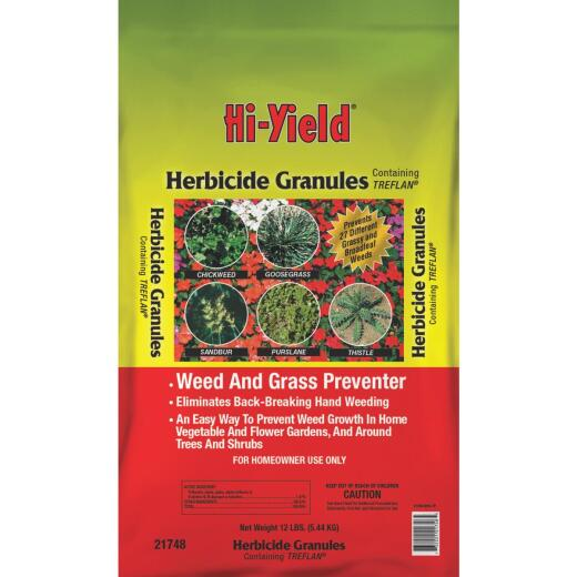 Hi-Yield 15 Lb. Ready To Use Granules Grass & Weed Preventer