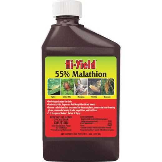 Hi-Yield 16 Oz. Concentrate Malathion Insect Killer