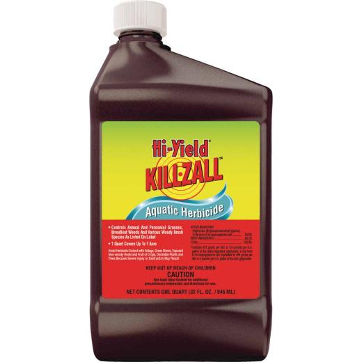 Hi-Yield Killzall 32 Oz. Concentrate Weed & Grass Killer Aquatic Herbicide