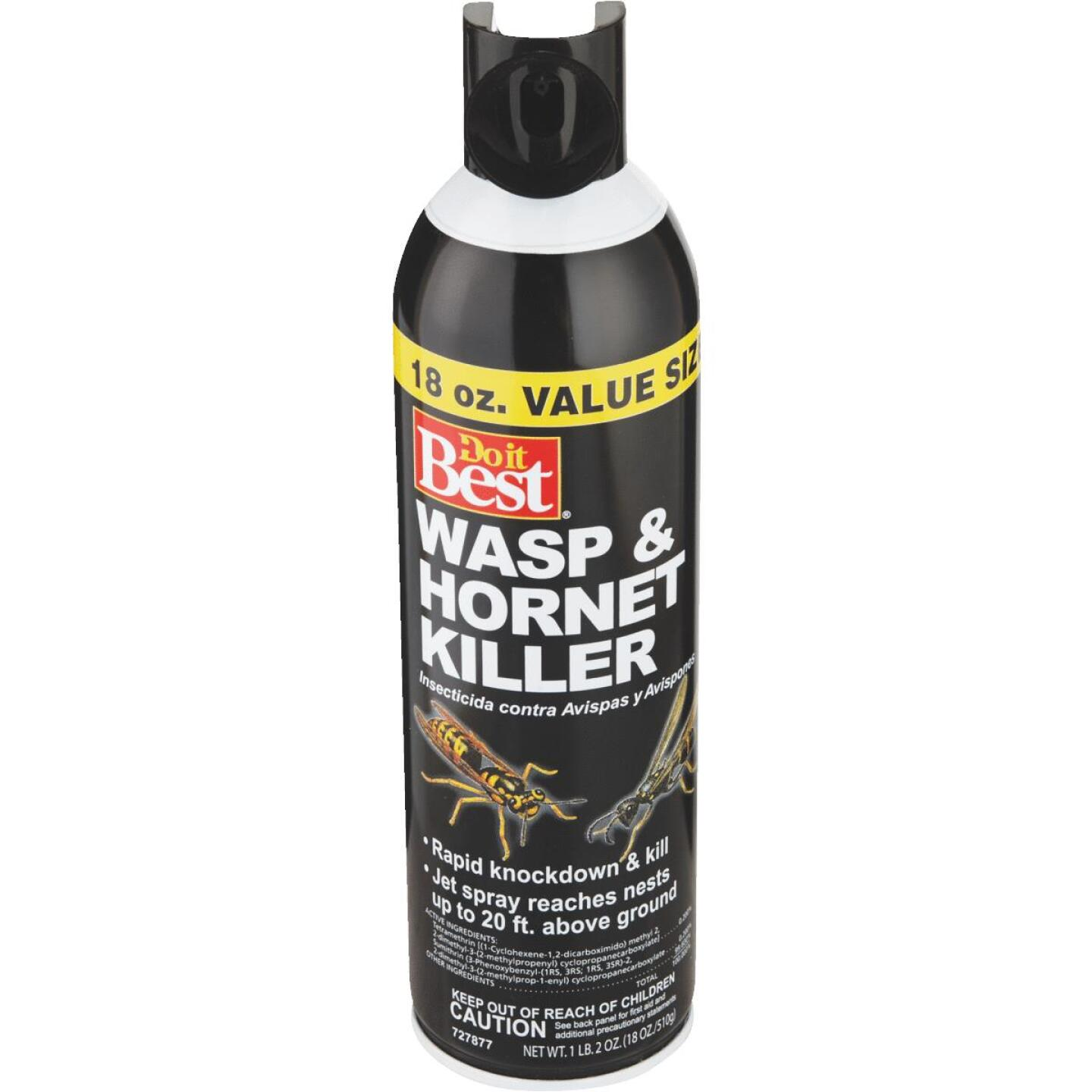 Do it Best 17.5 Oz. Liquid Aerosol Spray Wasp & Hornet Killer Image 6