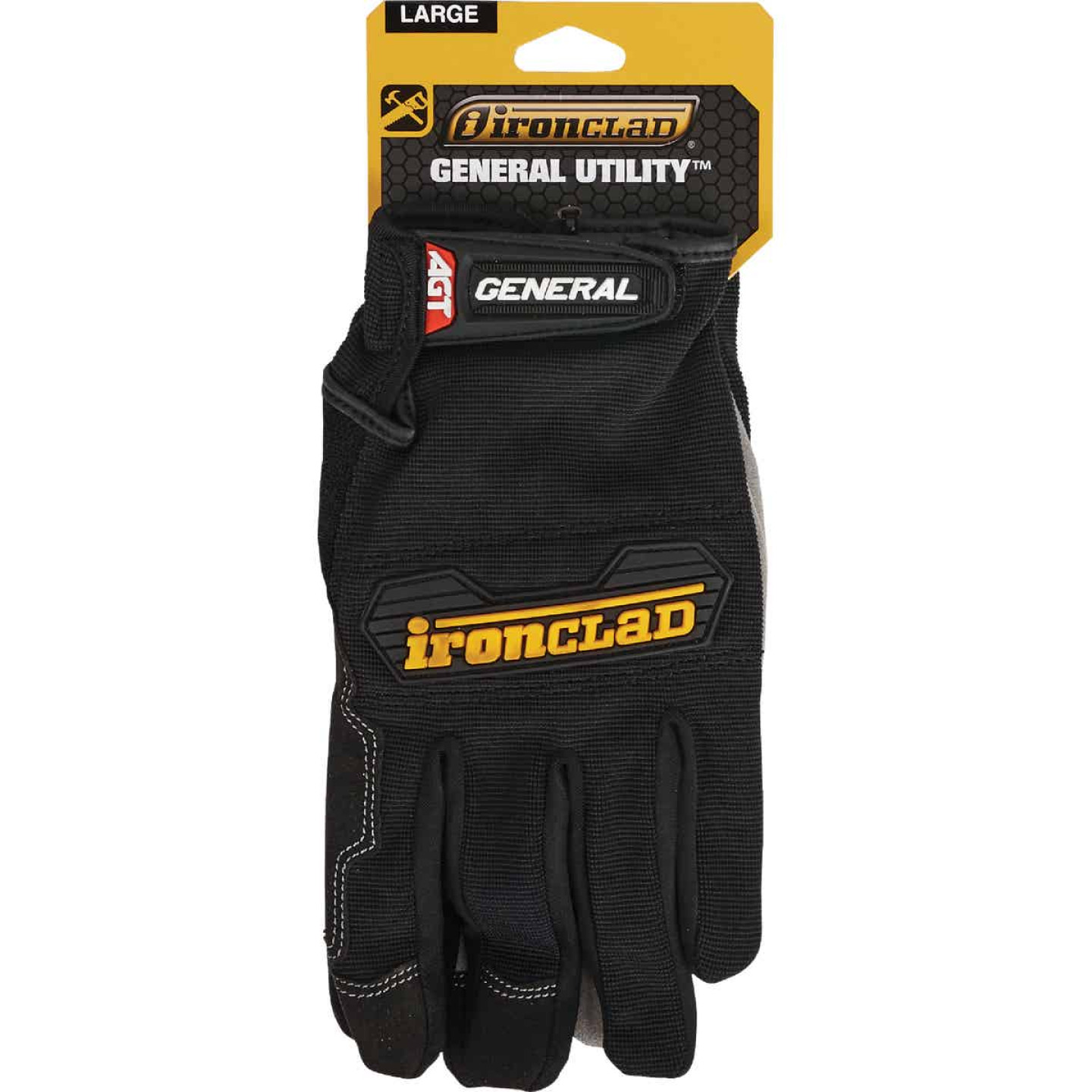 Ironclad General Utility Men's Large Synthetic Suede High Performance Glove Image 2